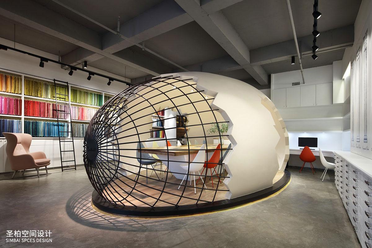 北欧风格办公室装修